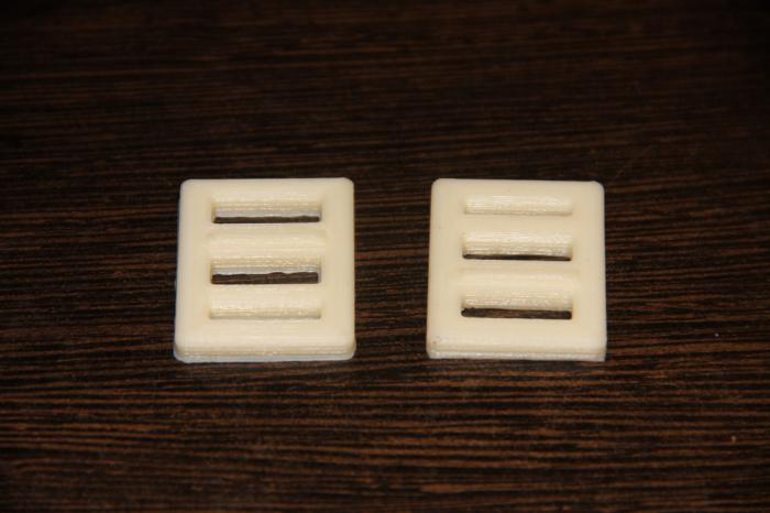3D printed trimmer buckle